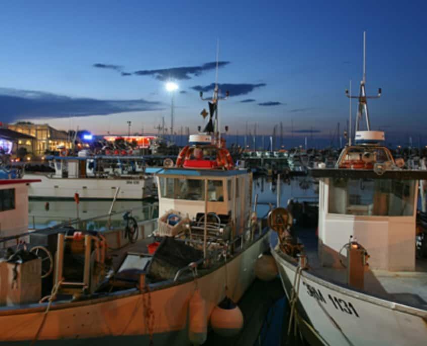 Virtual tour street view business, virtual tour 360, foto 360, porto di Cattolica