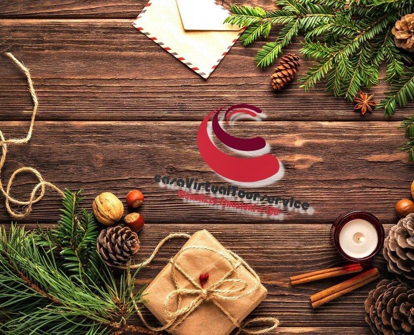 Foto di augurio per un buon Natale