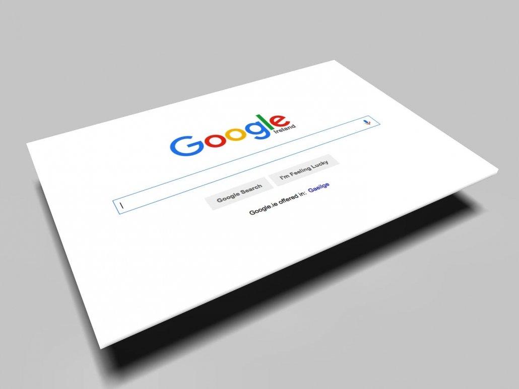 Foto che rappresenta Google.Ir il principale motore di ricerca